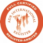 ADR FULL CERTIFIED REGISTER ARBITRATOR