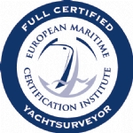 EMCI FULL CERTIFIED YACHT SURVEYOR